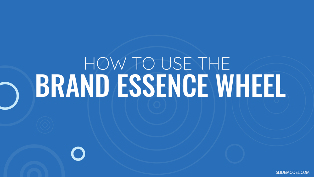 How to Use the Brand Essence Wheel PPT Template