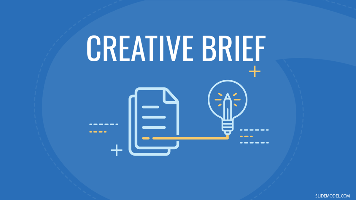 Quick Guide to Write and Present a Creative Brief PPT Template