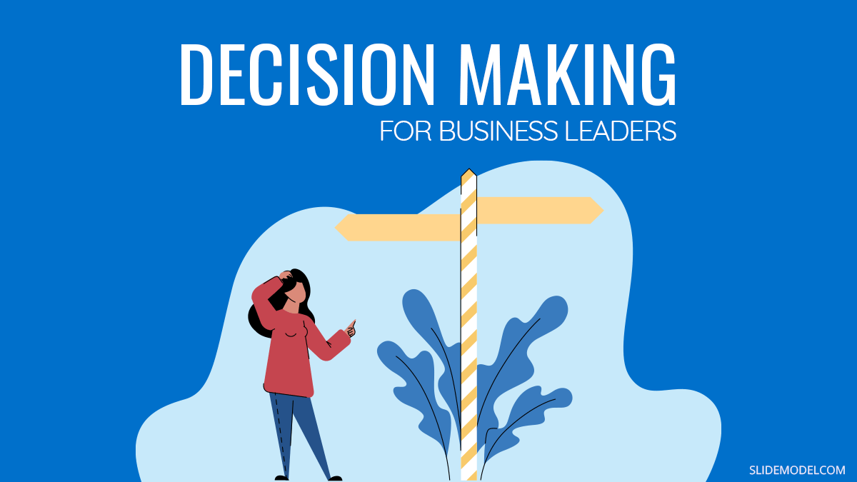 A Lowdown on Decision-Making for Business Leaders PPT Template