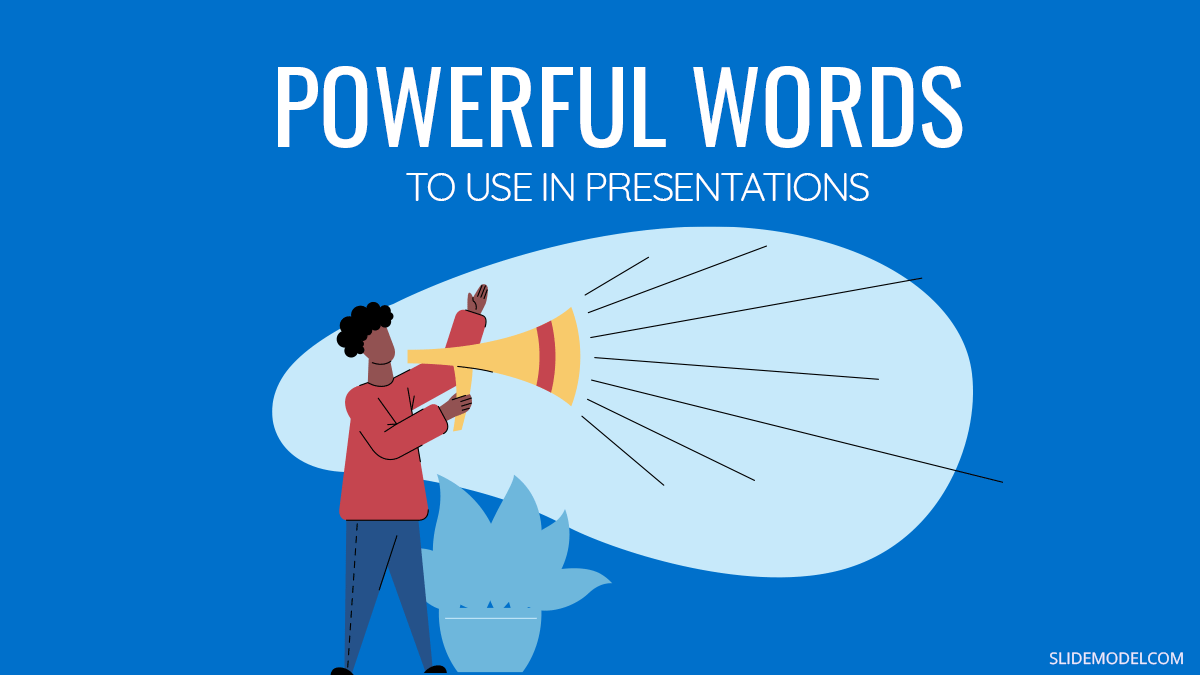 Powerful Words to Use in Presentations: Ultra Long ListPPT Template