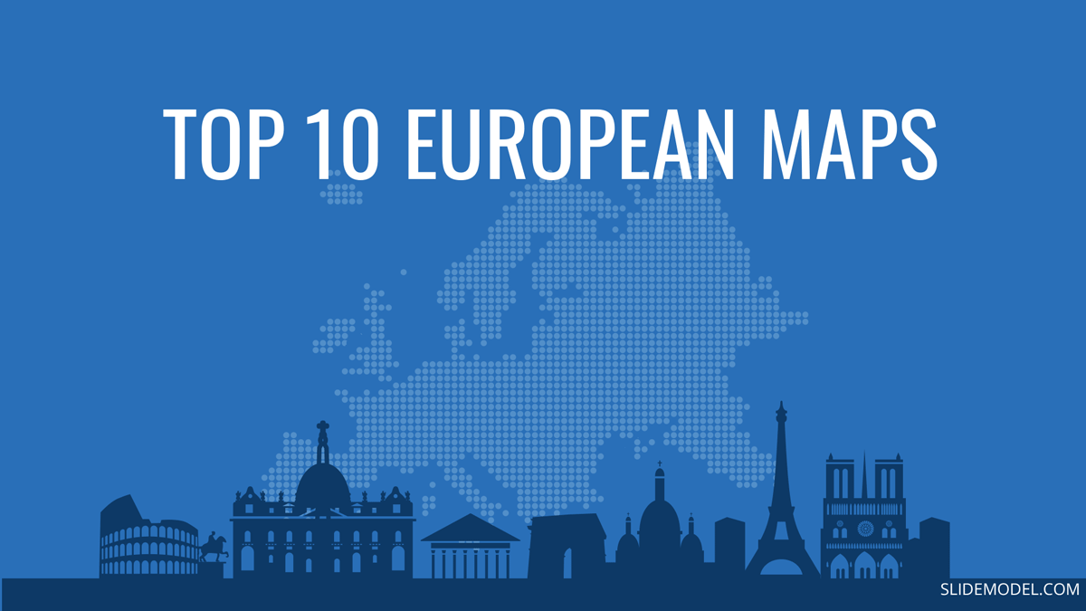 Top 10 Europe Maps PowerPoint Templates