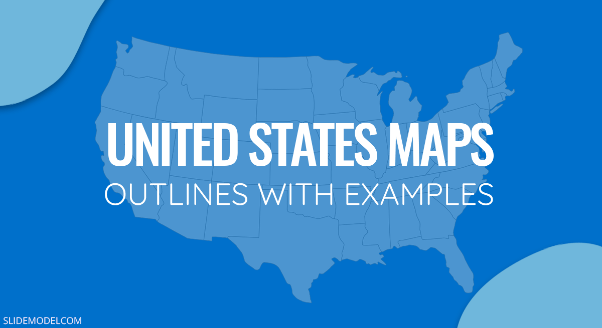 Unite States Outline Maps PPT Template