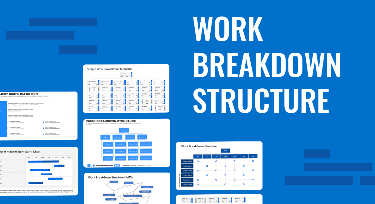 How to Present your Work Breakdown Structure WBS