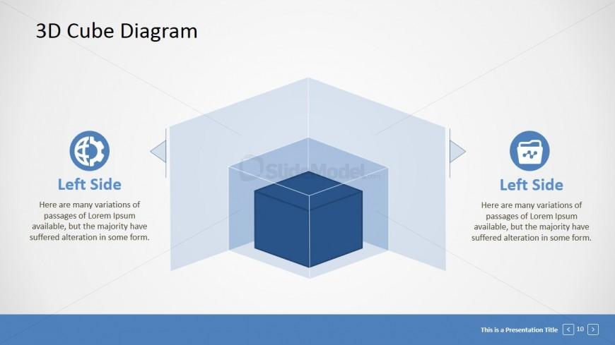 PowerPoint Concentric 3D Cubes