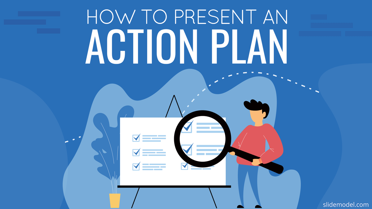 How to present an action plan cover PowerPoint templates