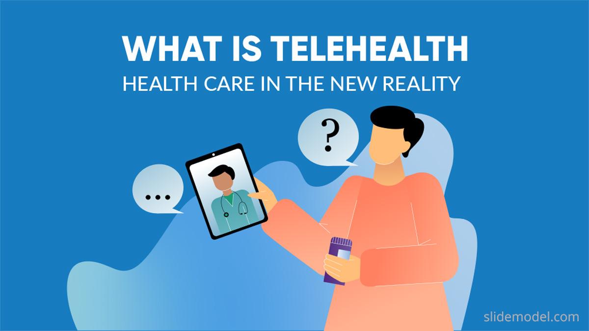 Telehealth Banner PowerPoint Templates
