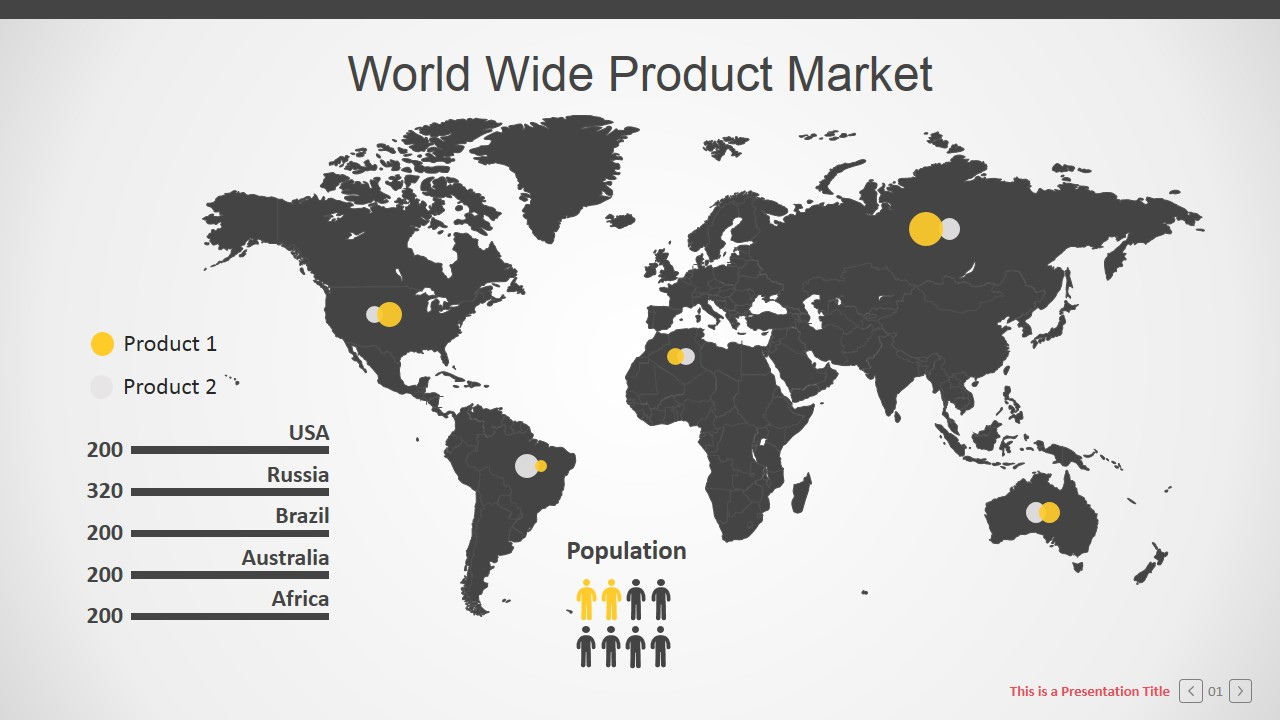 india map ppt template - branded corporate powerpoint template slidemodel