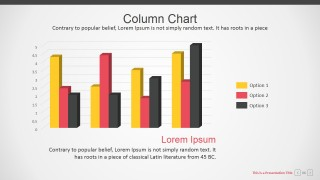 Editable Columns Charts for PowerPoint