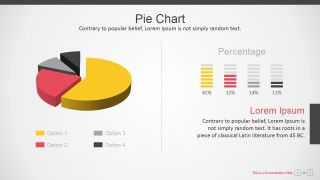Corporate Presentation Templates Pie Chart