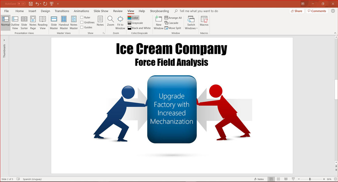 For and Against Forces in Force Field Analysis
