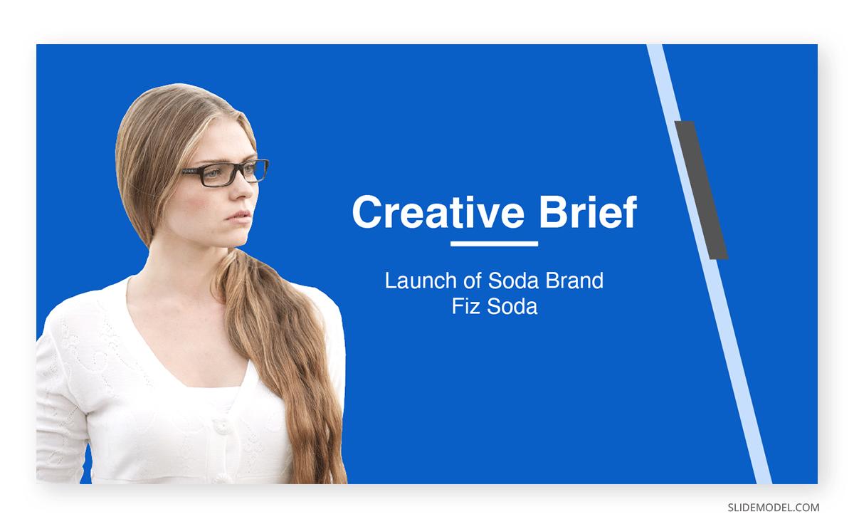 Corporate Creative Brief PPT Template