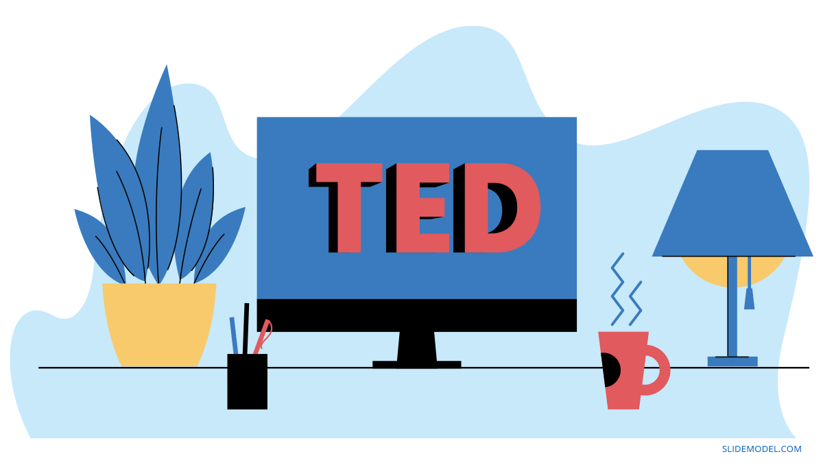 TED Talk-Style Presentations PPT Template