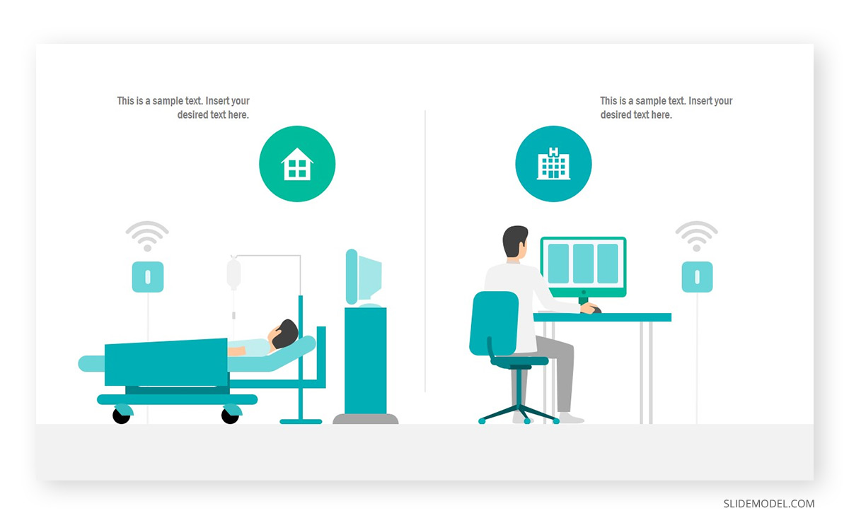 Telehealth Services PowerPoint Template