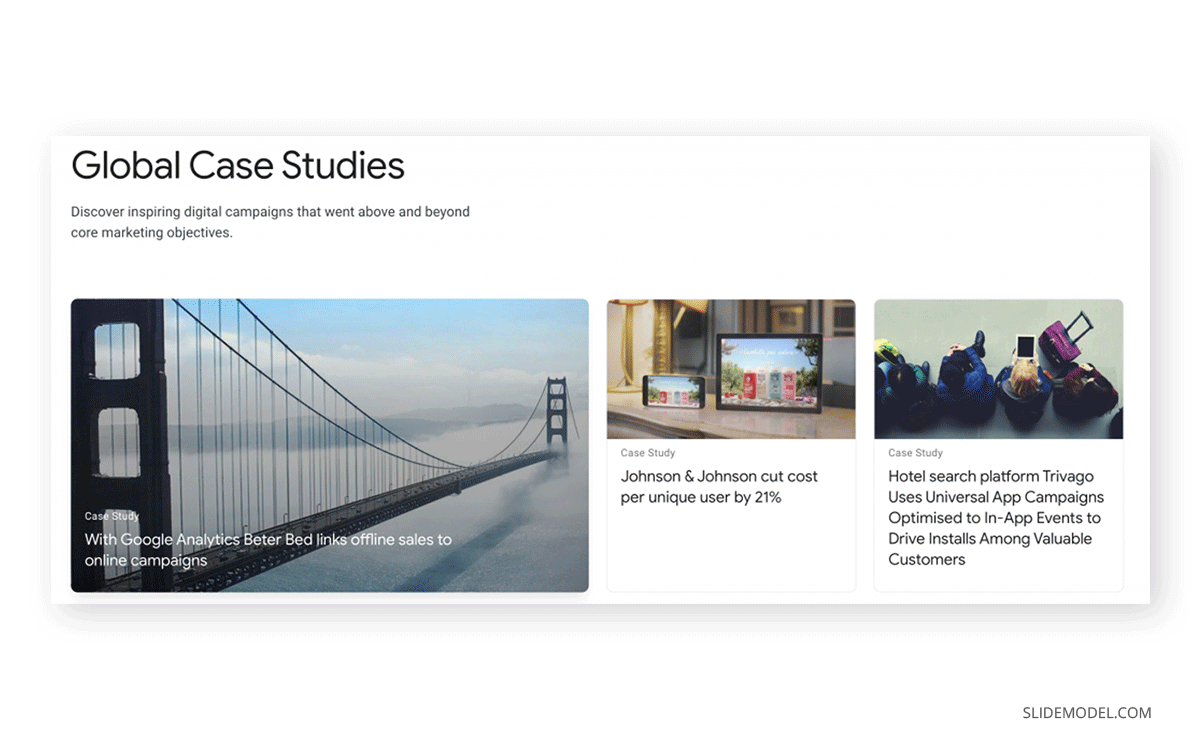 Case Study Example Google PPT Template