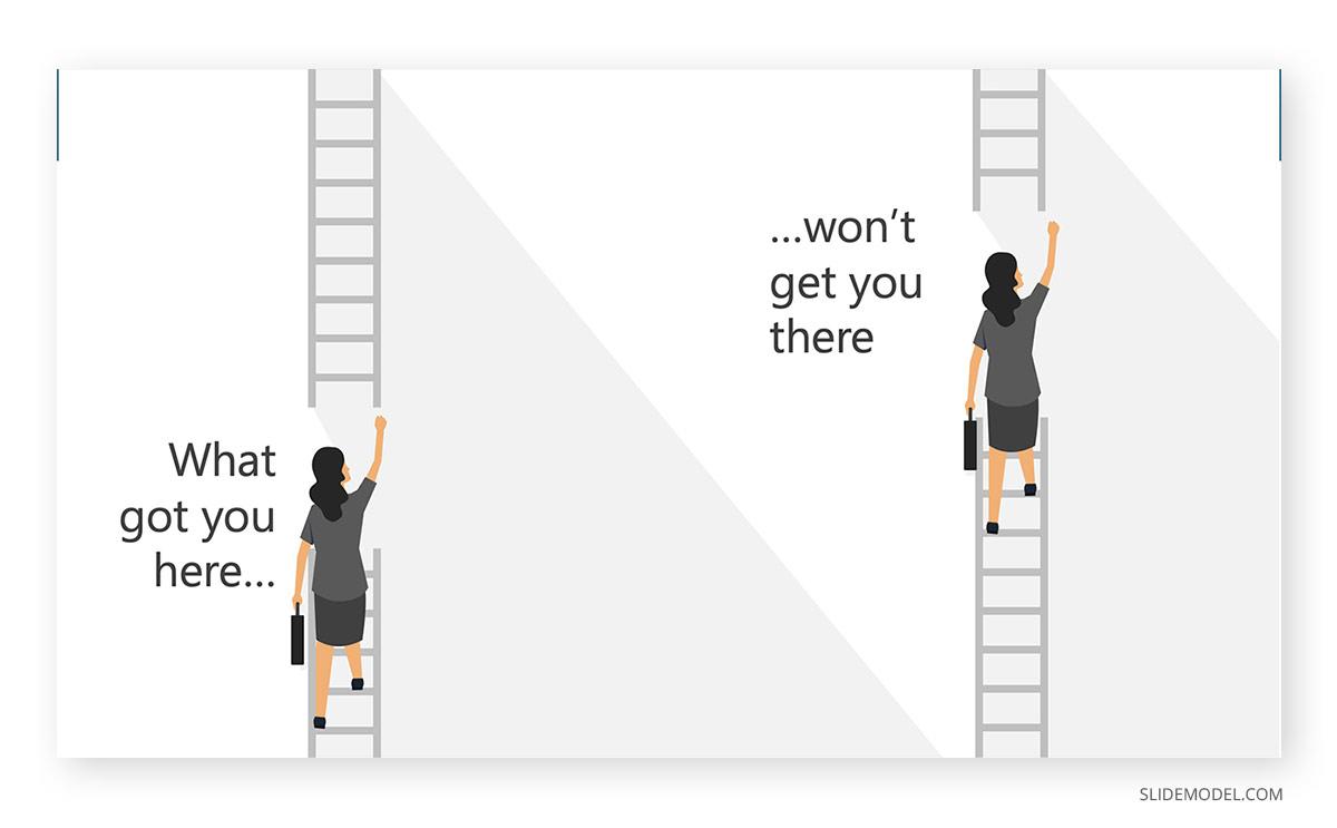 Kata Climb the Ladder PPT Template
