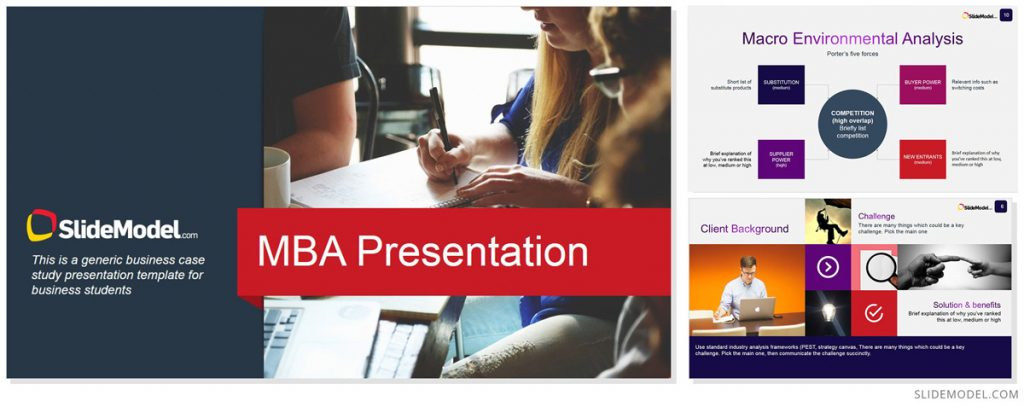MBA Presentation Theme for PowerPoint
