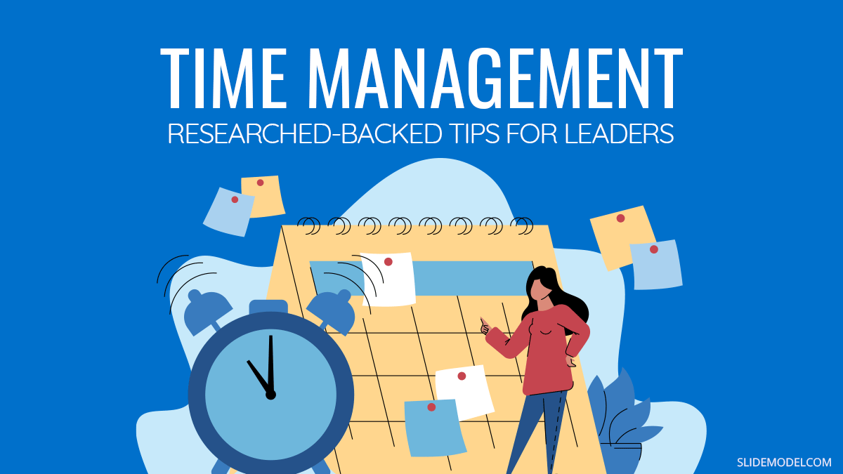 Time Management Tips For Leaders PowerPoint Template