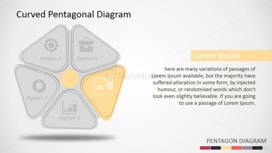 PowerPoint 3D Shapes Pentagon