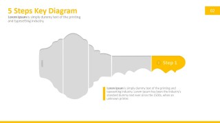 PPT Clipart Key Shape