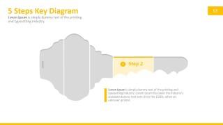 PPT Diagram Door Key Metaphor