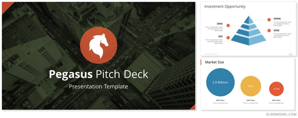 Pegasus Pitch Deck PowerPoint Themes