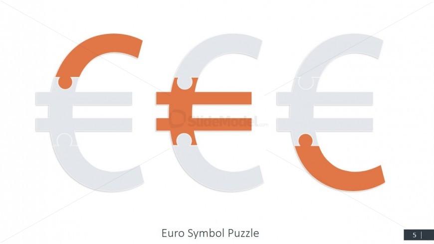 Euro Jigsaw PPT Slide Design