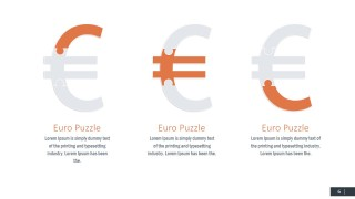 PPT Template Euro Jigsaw Shapes