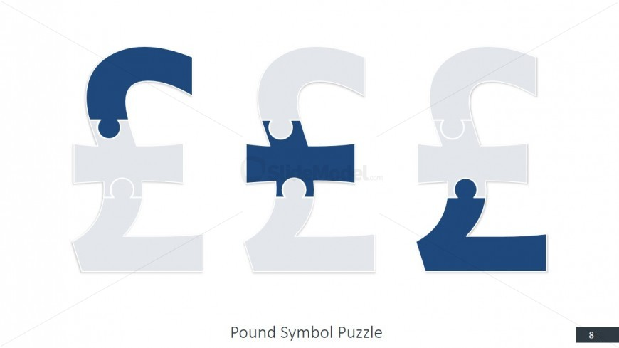 Currency Pound Symbol professional PowerPoint Templates