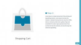 Shopping Bag Retail Puzzle Shapes for PowerPoint