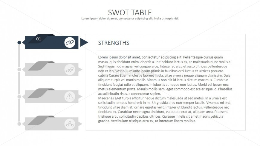 PowerPoint SWOT Analysis Templates
