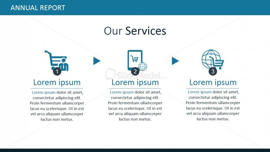 Our services powerpoint themes slidemodel ppt template for our services concept toneelgroepblik Gallery