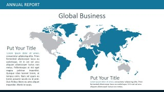 PPT World Map Global Market