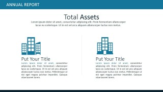 PPT Template for Total Assets