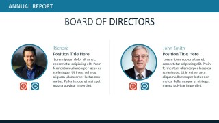 PowerPoint Templates Board of Directors With Images