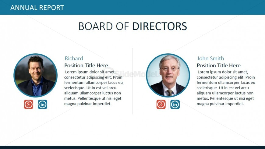 Board Of Directors Powerpoint Slide Design - Slidemodel