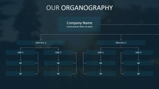 PPT Org Chart Template Design