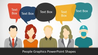 PowerPoint Presentation of People Silhouettes