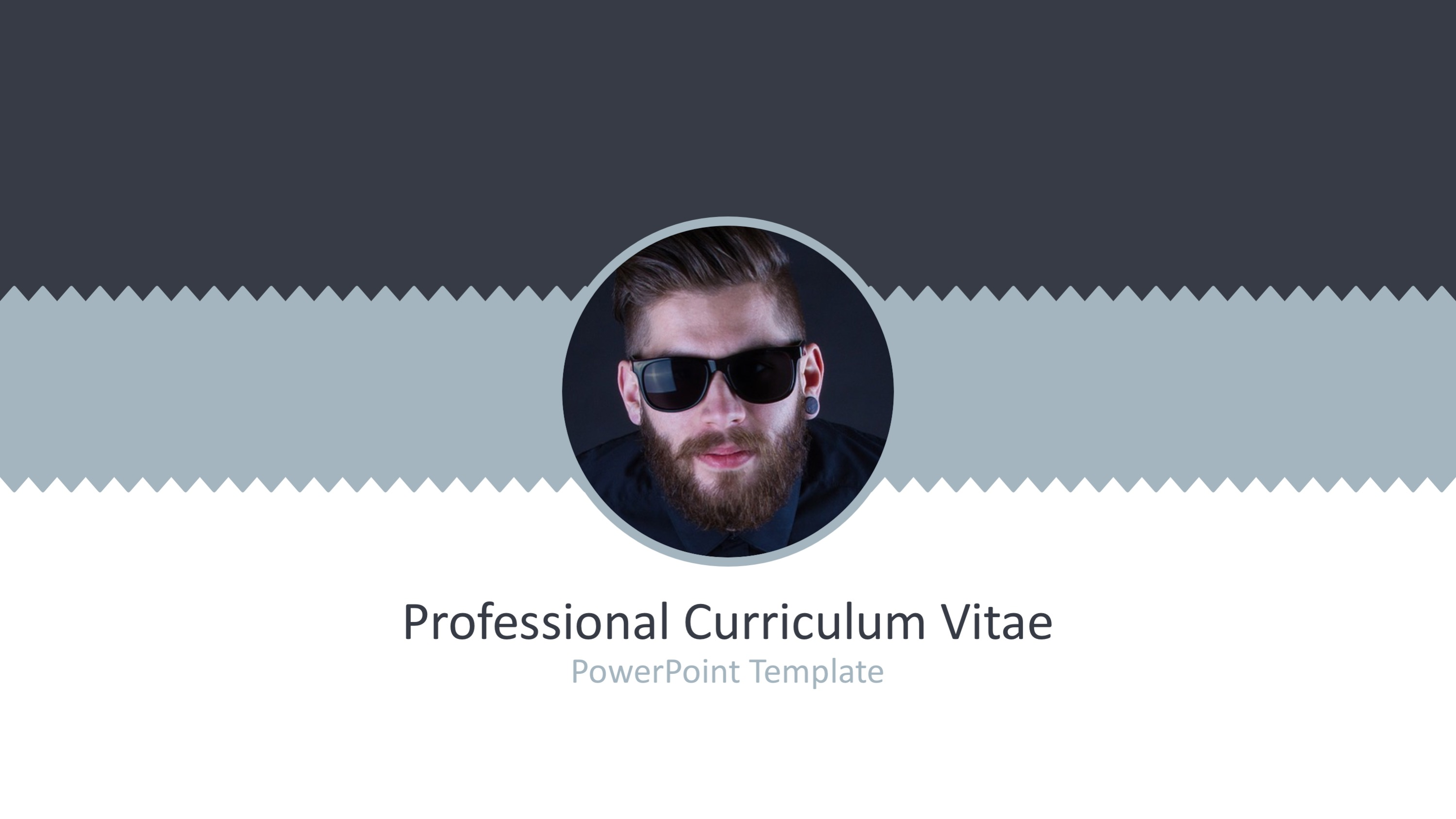 ppt template of cv