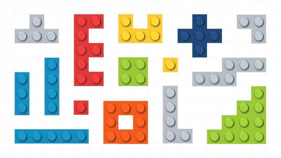 Lego Shapes for PowerPoint