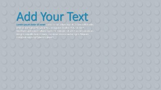 PPT Background Grey Lego Bricks