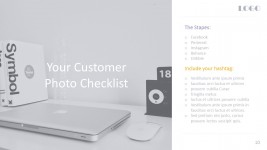 Digital Marketing Checklist For Business PowerPoint Templates