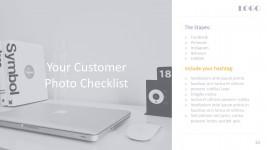 Digital Marketing Checklist For Business PowerPoint Templates