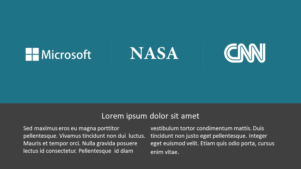 Editable Business Sponsor Icon PowerPoint Infographics