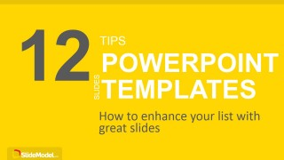 12 tips list powerpoint templates - slidemodel, Modern powerpoint