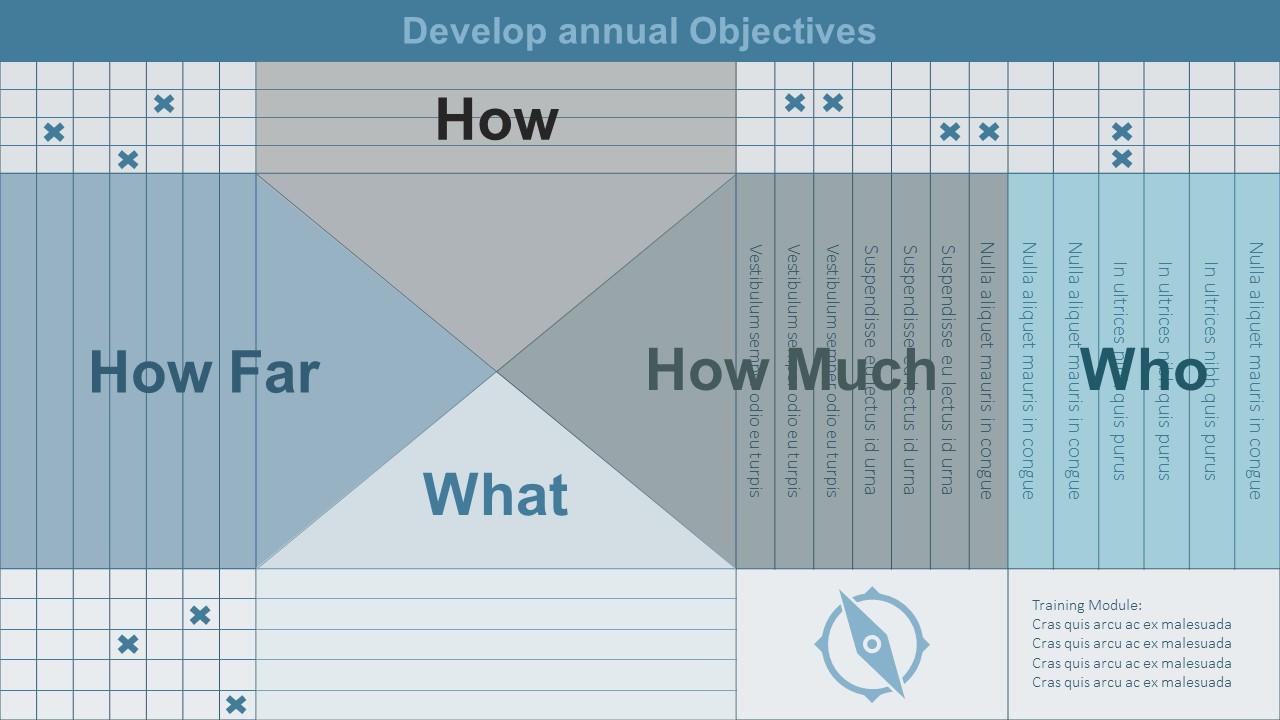 Annual Objective Development Matrix