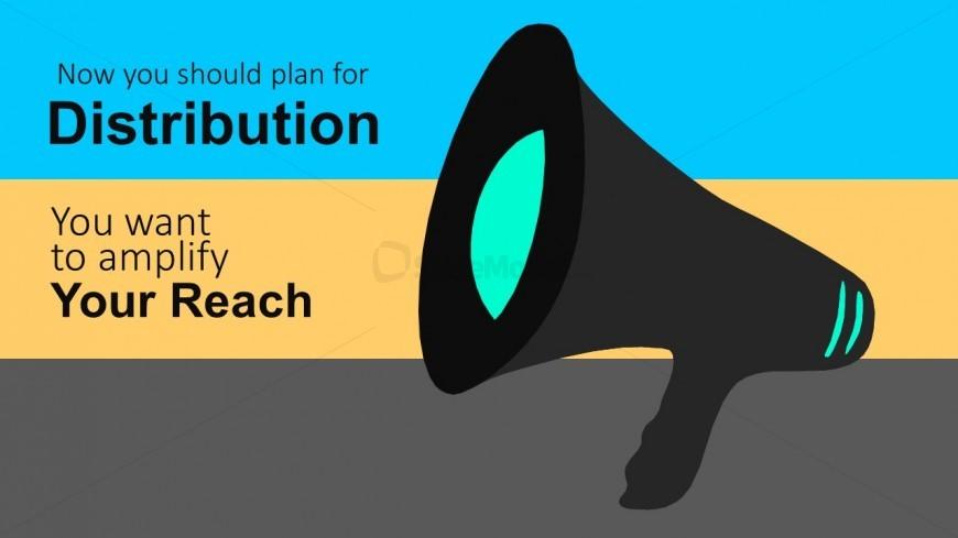 Marketing Distribution Plan PowerPoint Vectors