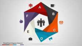 6 Stages PowerPoint Diagram Elements