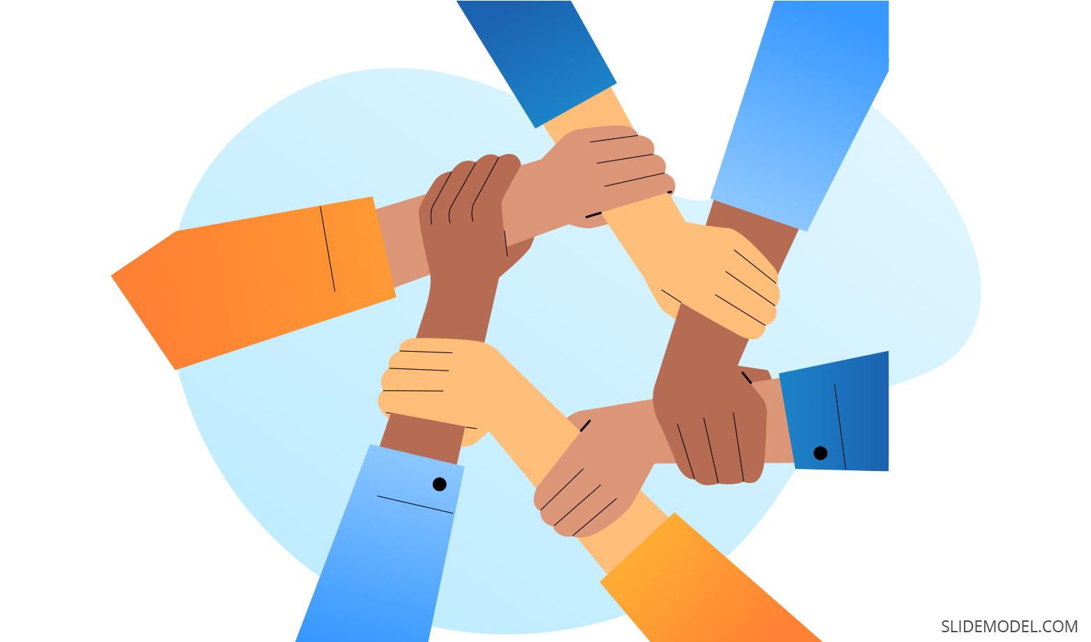 Teamwork Definition Slides Template