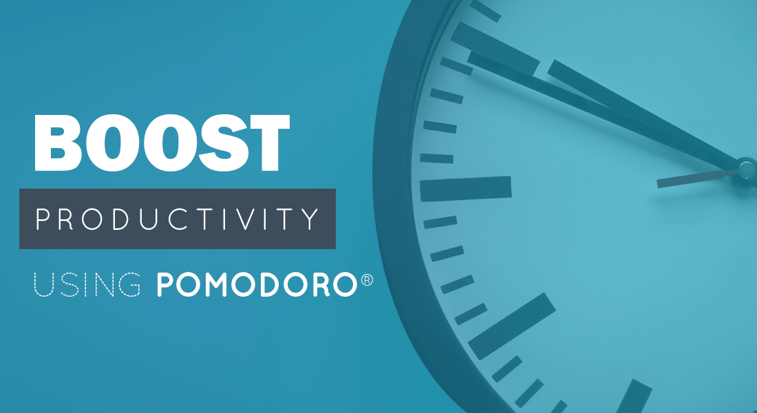 How to Boost Productivity using the Pomodoro Technique®