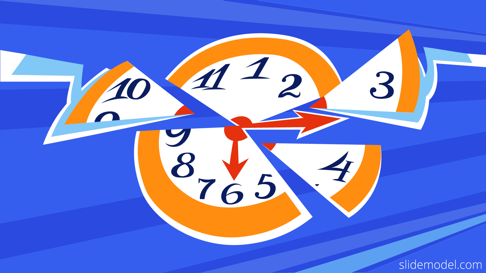 Time Management Concept Idea for Presentations created by SlideModel